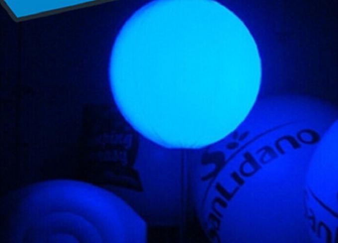 Ballonnen Met Licht : Nachtaufblasbare werbungs produkte purpurrotes aufblasbares led