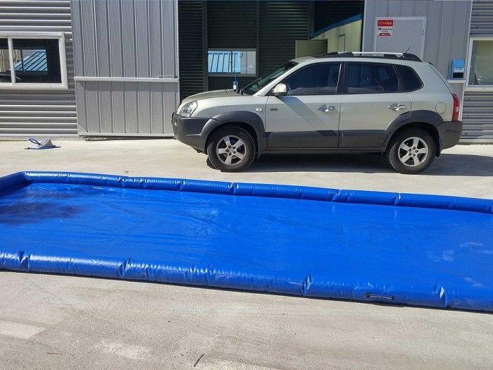 flexible blaue waschanlage matten wasser eind mmung die. Black Bedroom Furniture Sets. Home Design Ideas