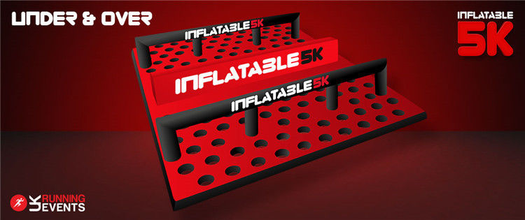 10 Huge Inflatable Blow Up Obstacle Course Inflatable 5k Santa Run