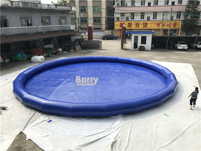 China aufblasbarer Swimmingpool 0.9mm PVCs/Explosions-tragbares rundes Wasser-Pool usine