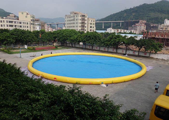 Kundengebundener Familien-großer aufblasbarer Garten-Swimmingpool ...
